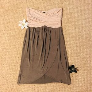 Soprano strapless dress